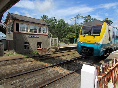 Class 175 at Ferryside Station
