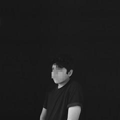 39/365 The black hates white. (singing_softgrunge) Tags: boy portrait white selfportrait abstract black guy mxico photoshop photoshoot retrato pixel autorretrato minimalistic alternative matte tumblr