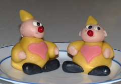 Marsepein clowns Explore 20150104 (Olga and Peter) Tags: marzipan clowns marsepein fp1090943