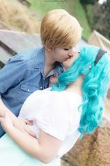 DSC_4065 (XRavenheartPH) Tags: moon cute girl couple cosplay persone haruka yuri cosplayer sailor neptune uranus michiru allaperto