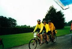 Haig Hall - Trandem (flowerpotman!) Tags: film manchester cycling 2000 kodak scan cc cycle trans blackpool pennine transpennine tpcc