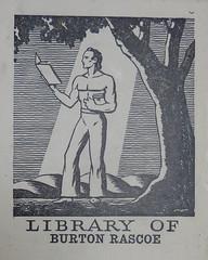 Bookplate/Label from Penn Libraries AC9C7867932t (Provenance Online Project) Tags: 1922 englandlondon pennlibraries cooperlane americancultureclass bookplatelabel ac9c7867932t unitedstatesconnecticutnewhaven unitedstatespennslyvanialancaster rascoeburton