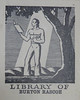 Bookplate/Label from Penn Libraries AC9C7867932t (Provenance Online Project) Tags: 1922 englandlondon pennlibraries cooperlane americancultureclass bookplatelabel ac9c7867932t unitedstatesconnecticutnewhaven unitedstatespennslyvanialancaster rascoeburton
