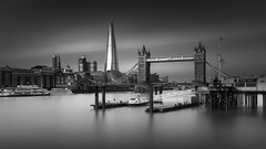London Calling (vulture labs) Tags: longexposure london thames clouds zeiss skyscraper towerbridge 35mm photography cityscape workshop shard firecrest theshard vulturelabs 16stops