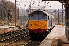 Short Set arrives at Norwich (Chris Baines) Tags: set great short norwich yarmouth drs 47818
