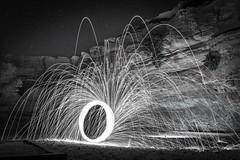 Steelwool (g.aftermath) Tags: art fun long desert sony sigma exposer riyadh 19mm a6000