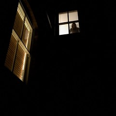 47/366 self portrait at night looking out a window. (scott.simpson99) Tags: house selfportrait me window night darkness spying selfie 366 scottsimpson iphone6