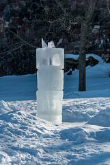 The Ice Column (LiveToday84) Tags: trip travel winter sea ice water island boat frozen helsinki north suomenlinna d80