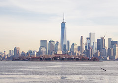 liberty state park ellis island and freedom tower (Visual Thinking (by Terry McKenna)) Tags: park liberty state nj