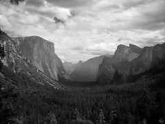 Yosemite Valley (California, USA) (My Wave Pics) Tags: california park travel sky usa mountain tree tourism nature beautiful beauty rock clouds america forest landscape outdoors view natural outdoor background scenic landmark national american valley yosemite granite wilderness