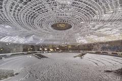 Ashes In The Snow (http://www.ranopano.fr) Tags: urban abandoned decay communism forgotten urbanexploration fujifilm derelict deserted destroy urss urbex buzludzha buzludja bouzloudja fujifilmxe1