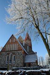 Biestow #2 (victorlaszlo73) Tags: winter sunny sonnig dorfkirche mecklenburgvorpommern biestow