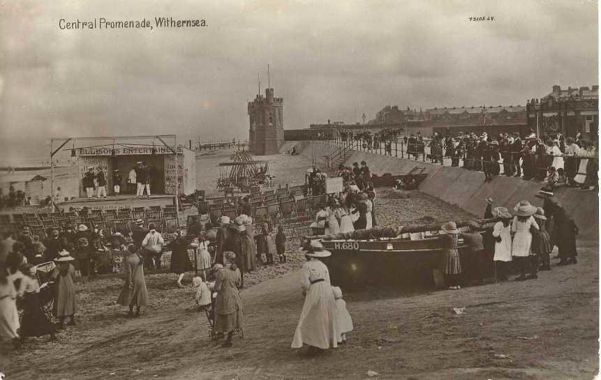 Withernsea Promenade c.1900  (archive ref PO-1-159-29)