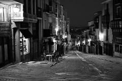 urban night (mesana62) Tags: street light urban espaa black skyline night calle spain europe exploration zamora orton castilla cylon13
