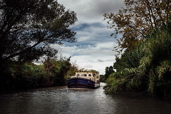 houseboat (bass_nroll) Tags: summer france canon canal holidays houseboat du mk2 5d midi languedoc beziers mkii canaldumidi