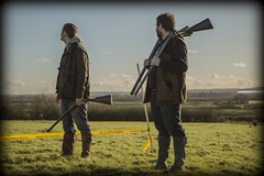 Vinnie (James-306) Tags: wild black field hammer jones harrison action thomas pigeon barrel powder double clay shooting 12 dual shotgun wellies trap parker hale vinnie bore cogswell wield boxlock