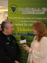 "Adrianne Murphy of Near FM/TV speaks with Paddy Power of Parnells GAA-1 • <a style=""font-size:0.8em;"" href=""http://www.flickr.com/photos/13728153@N06/24755775185/"" target=""_blank"">View on Flickr</a>"