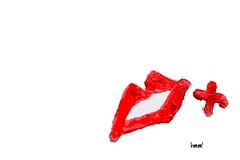 Just a bit of fun (in explore ;-)))) (Finding Chris) Tags: red scarlet kiss vivid lips redlips lipstick minimalism redandwhite macromondays vibrantminimalism