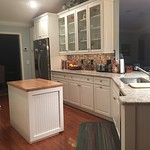 BEFOREANDAFTERKITCHEN : Before and After photo of our Celebration Kitchen Remodel.