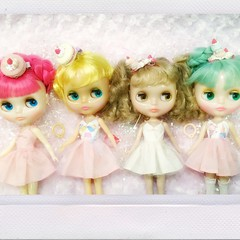 Sweet tooth collection! Love my candy colored girls!