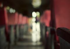 Train kept a rollin' (Mister Blur) Tags: blur girl museum train 35mm mexico tren nikon bokeh background yucatan blurred depthoffield merida museo forlife d7100