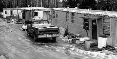Squalor_20160213 (tpeters2600) Tags: blackandwhite monochrome alaska canon anchorage trailer squalor trailertrash eos7d tamron18270 tamronaf18270mmf3563diiivcldasphericalif