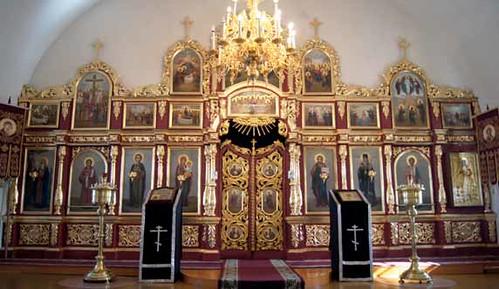 Иконостас церкви Вознесения Господня