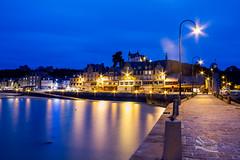 Cancale (http://www.jeromlphotos.fr) Tags: blue light sea mer port canon landscape eos lumire bretagne breizh bleu reflet 7d bluehour paysage extrieur britany cancale illeetvilaine heurebleue