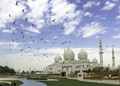 IMG_7509 (Ali Sabbagh) Tags: world travel wallpaper sky color architecture canon landscape uae grand mosque zayed abudhabi marble sheikh eos7d sheikhzayedmosque