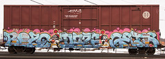 Untitled_Panorama1 (The Curse Of Brian) Tags: minnesota graffiti minneapolis trains gets daze bozo freights