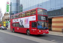 SLN 17970 - LX53JZN - BEXLEYHEATH BROADWAY - SUN 24TH JAN 2016 (Bexleybus) Tags: london kent broadway route alexander dennis stagecoach trident tfl bexleyheath adl 269 17970 alx400 selkent lx53jzn