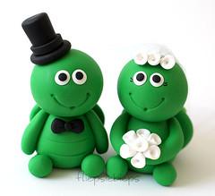 Turtle Cake Topper (fliepsiebieps_) Tags: wedding cake turtle topper turtlecaketopper