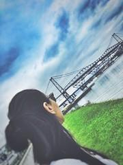 Ponte Herclio Luz - Florianpolis - Santa Catarina - Brasil (AnaFlaviaDuarte) Tags: floripa ponte florianopolis santacatarina hercilioluz pontehercilioluz pontoturistico