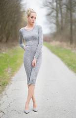 Fiona (ecker) Tags: portrait woman fashion zeiss linz dress path sony 85mm naturallight portrt portraiture fiona gown frau a7 weg sonnar batis kleid stehen avaliablelight ganzkorper umgebungslicht zeissbatis1885