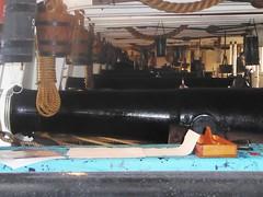 HMS Warrior, Gun Deck (alanaplin) Tags: hmswarrior