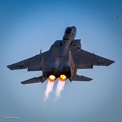 IMG_9142 (xnir) Tags: israel israeliairforce iaf aviation idf air force aircraft outdoor defence   israelairforce flight mcdonnelldouglas boeing f15 eagle airsuperiority fighter baz raam
