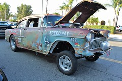 Cruisin' Grand 8/21/15 (USautos98) Tags: chevrolet 1955 chevy hotrod custom streetrod gasser 210