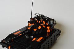 Tenk (~J2J~) Tags: modern tank lego warfare brickarms brickforge