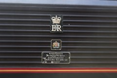67006's crests and appointment plates (Cosmo's Train & Gig Photos) Tags: nun crest prima skip nuneaton ews royalsovereign westcoastmainline wcml chartertrain class67 excursiontrain 67006 dbschenker ruggex excursionspecial appointmentplate