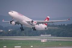 260am - Swiss Airbus A330-200; HB-IQD@