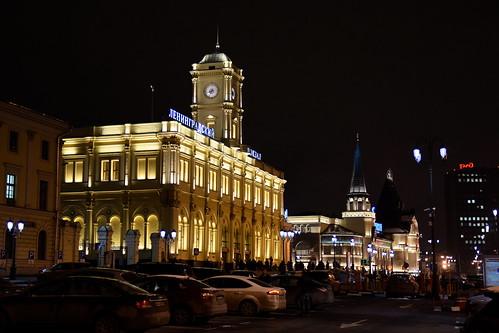 Komsomolskaya Square Railway stations ©  й›·е¤Є