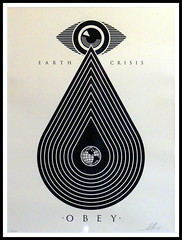 Shepard Fairey - Earth Crisis Cream (Thethe35400) Tags: obey fairey shepard