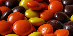 Candy (Sky_PA (Catching up slowly- On/Off)) Tags: lebanon stilllife macro colors closeup canon colorful candy sweet chocolate pa hersheys peanutbutter reesespieces amateurphotography sx50