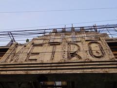 Metro Cinema[2016] (gang_m) Tags: ロケ地 filminglocation 映画館 cinema theatre 建築 architecture artdeco アール・デコ gunday インド india2016 india kolkata calcutta コルカタ カルカッタ