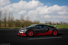 Bugatti Veyron Super Sports (JesperPhotography) Tags: red orange black sports nature netherlands dutch car speed insane cool nikon highway ss fast super carbon bugatti supercar veyron supersports d7100