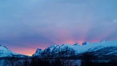 Arctic sunset II (narnejo) Tags: sunset solnedgang tromso troms kvalya