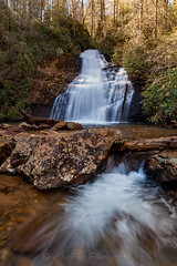 Upper Helton Creek Falls (John Cothron) Tags: longexposure winter usa cold nature water rock digital forest georgia landscape morninglight us waterfall outdoor unitedstatesofamerica scenic sunny falling environment flowing thesouth dixie clearsky ze cpl protected unioncounty blairsville americansouth heltoncreekfalls southernregion circularpolarizingfilter chattahoocheeoconeenationalforest 35mmformat upperheltoncreekfalls johncothron canoneos5dmkii distagont2821 southatlanticstates cothronphotography zeissdistagont21mm28ze ©johncothron img12577160227