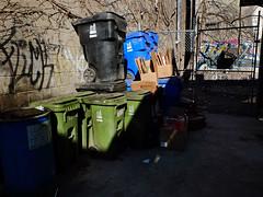 Bins (geowelch) Tags: toronto downtown shadows urbanfragments fujifilmx10