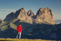 Osservando (cesco.pb) Tags: italy mountains alps canon italia alpi montagna trentino dolomites dolomiti canazei dolomiten valdifassa sassolungo passopordoi trentinoaltoadige canoneos60d tamronsp1750mmf28xrdiiivcld