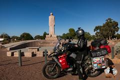 Australien Farmer Denkmal